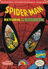 Jaquette Spider-Man : Return of the Sinister Six