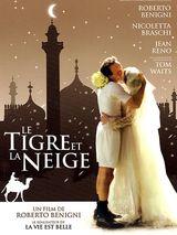 Affiche Le Tigre et la Neige