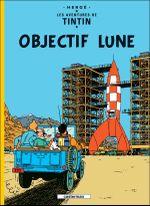 Couverture Objectif Lune - Les Aventures de Tintin, tome 16