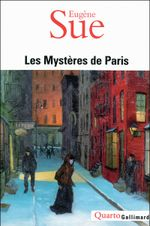 Couverture Les mystères de Paris