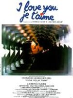 Affiche I love you, je t'aime