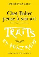 Couverture Chet Baker pense à son art