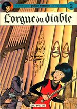 Couverture L'Orgue du diable - Yoko Tsuno, tome 2