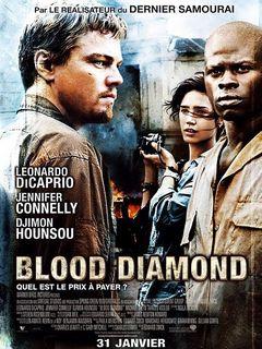 Affiche Blood Diamond
