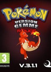 Jaquette Pokémon Gemme Version Rouge