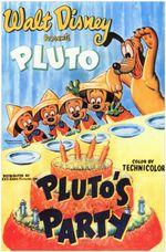 Affiche La Fête de Pluto