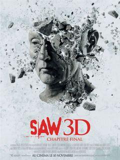 Affiche Saw 3D : Chapitre final