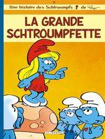Couverture La Grande Schtroumpfette - Les Schtroumpfs, tome 28