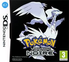 Jaquette Pokémon Version Noire