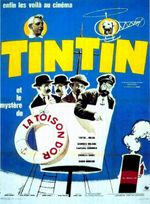 Affiche Tintin et le Mystère de la Toison d'or