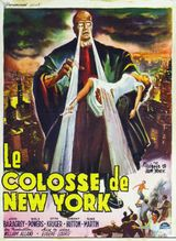 Affiche Le Colosse de New York