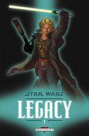 Couverture Le Destin de Cade - Star Wars : Legacy, tome 9