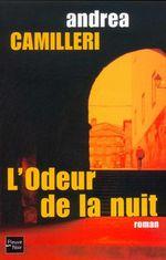 Couverture L'Odeur de la nuit - Commissaire Montalbano, tome 8