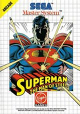 Jaquette Superman : The Man of Steel