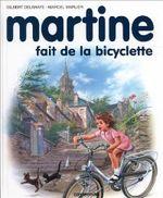 Couverture Martine fait de la bicyclette