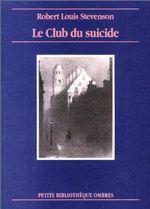 Couverture Le Club du suicide