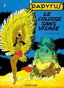 Couverture Le Colosse Sans Visage - Papyrus, tome 3