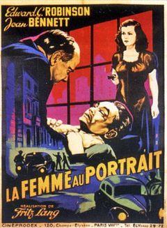 Affiche La Femme au portrait