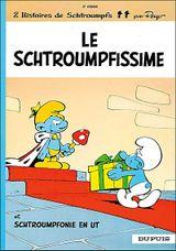 Couverture Le Schtroumpfissime - Les Schtroumpfs, tome 2