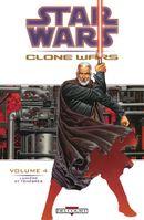 Couverture Lumière et Ténèbres - Star Wars : Clone Wars, tome 4