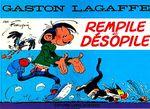 Couverture Gaston : Rempile et désopile (hors-série)