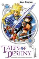 Couverture Tales of Destiny