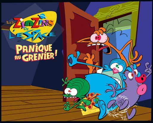 Les zinzins de l 39 espace panique au grenier 2012 jeu vid o - Les zinzin de l espace ...