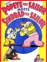 Affiche Popeye le marin rencontre Sindbad le marin