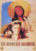 Affiche Les Dernières Vacances