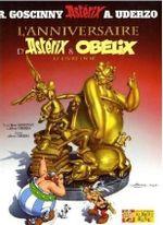Couverture L'Anniversaire d'Asterix & Obélix : Le Livre d'or - Astérix, tome 34