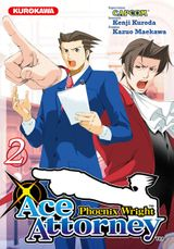 Couverture Phoenix Wright : Ace Attorney