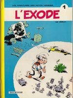 Couverture L'exode - Les Petits hommes, tome 1