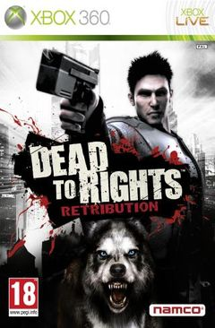 Jaquette Dead to Rights : Retribution