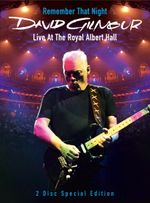 Affiche Remember That Night - David Gilmour Live at the Royal Albert Hall