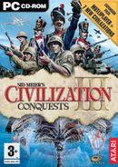Jaquette Civilization III : Conquests