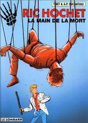 Couverture La Main de la mort- Ric Hochet, tome 59