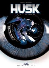 Couverture Monkey Brain Husk - Husk, tome 1
