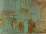 Affiche Exécution de Jeanne d'Arc