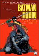 Couverture Batman Vs. Robin - Batman & Robin, tome 2