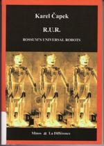 Couverture RUR Reson's Universal Robots