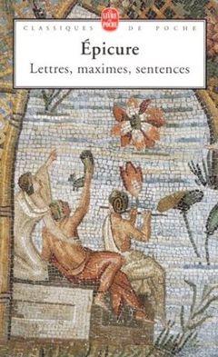 Couverture Lettres, maximes, sentences