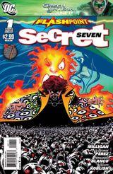 Couverture Flashpoint : Secret Seven
