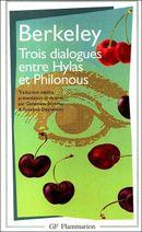 Couverture Trois dialogues entre Hylas et Philonous