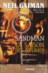 Couverture La Saison des brumes - Sandman, tome 4