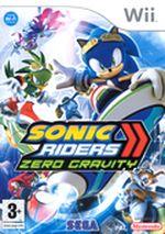Jaquette Sonic Riders : Zero Gravity