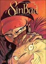 Couverture Les Ombres du harem - Sinbad, tome 3