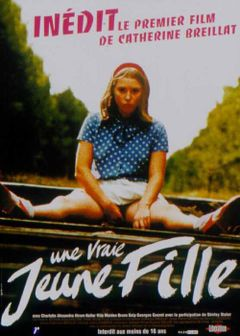 Affiche Une vraie jeune fille