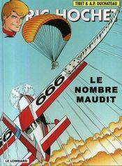 Couverture Le Nombre maudit - Ric Hochet, tome 67