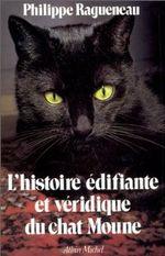 Couverture L'Histoire édifiante et véridique du chat Moune