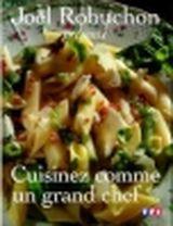 Couverture Cuisinez comme un grand chef
